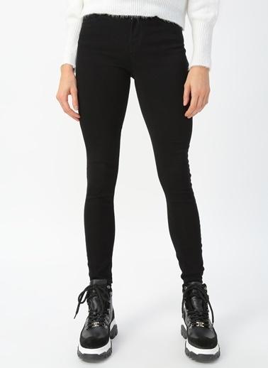 Only Only Siyah Denim Pantolon Siyah